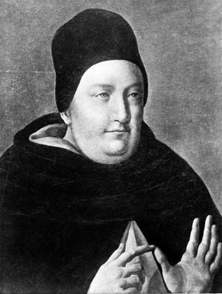 Saint Thomas Aquinas, mid 13th century.