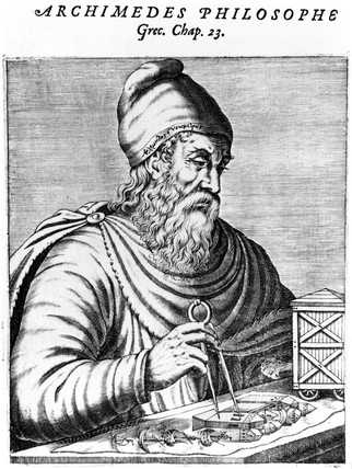 Archimedes, Greek mathematician, c 250 BC.