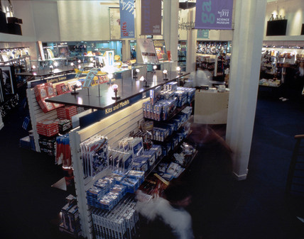 The Science Museum Gift Shop, January 1996.