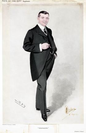 Charles Urban, American film pioneer, 1911.
