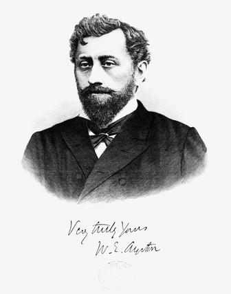 William Ayrton, British engineer, 1875-1900.