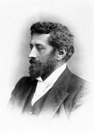 William Ayrton, British engineer, c 1875-1900.