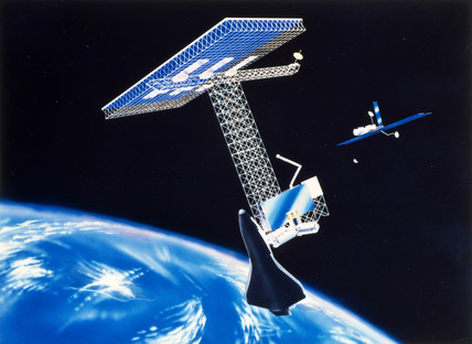 Design for future space centre, 1984.