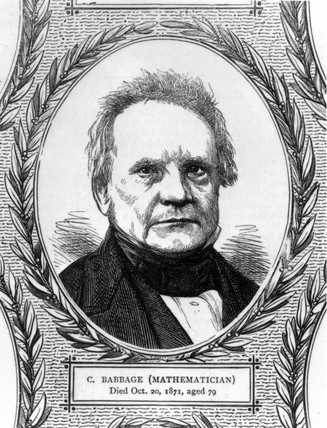 Charles Babbage, British mathematician and computing pioneer, c 1860s.