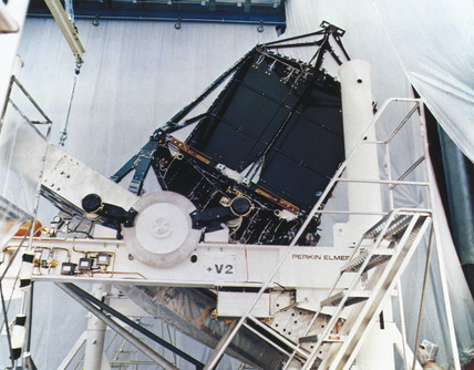 Focal plane structure, Hubble Telescope, 1980s.