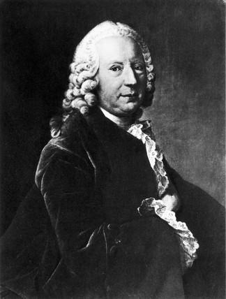 Daniel Bernoulli, Swis mathematician, mid-18th century.