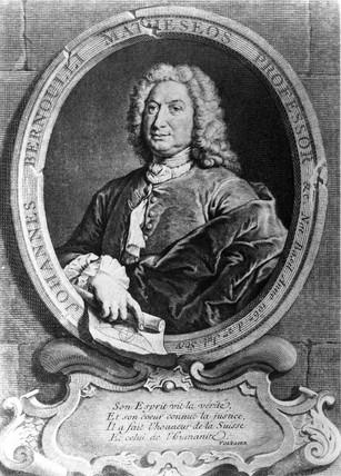 Jean Bernoulli, Swis mathematician, 17th century.