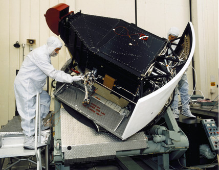 Construction of Wide Feld and Planetary camera for Hubble Telescope, 1980s.