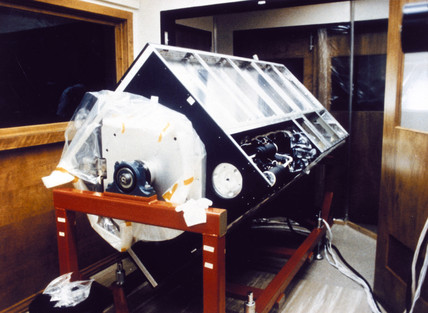 Photometer for the Hubble Telescope, 1980s.