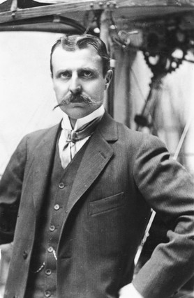 Louis Bleriot, French aviator, c 1910s.