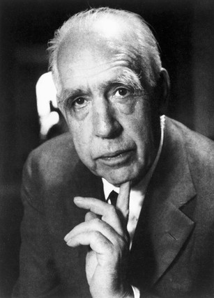 Niels Bohr, Danish theoretical physicist, c 1950s.