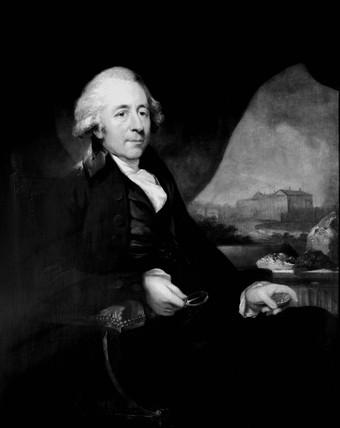 Matthew Boulton, English engineer and industrialist, 1792.