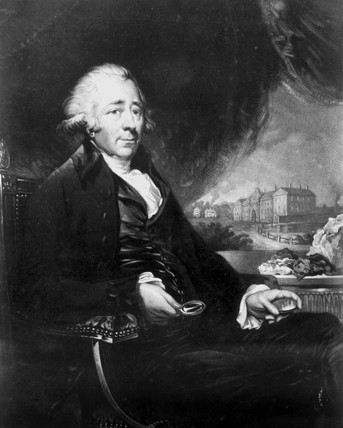Matthew Boulton, English engineer and industrialist, 1796.