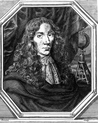 Robert Boyle, Irish physicist and chemist, c 1670s.