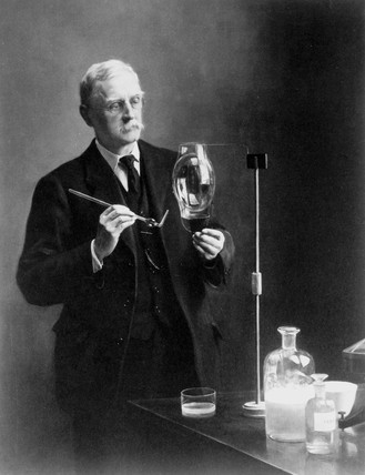 Sir Charles Vernon Boys, English physicist and inventor, c 1916-1918.