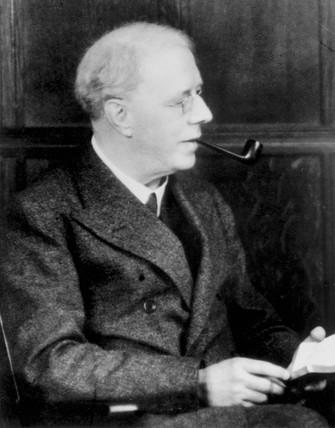 Harry Brearley, British stainles steel pioneer, c 1920s.