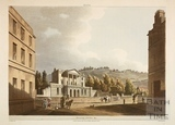 View towards Sydney Hotel, Bath 1805