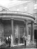 Cross Bath - Portico with urchins c.1903
