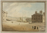 Queen Square from north west corner (Queen's Parade), Bath 1773