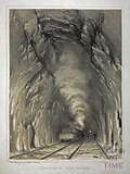 Interior of the Box Tunnel c.1840