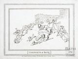Comforts of Bath, the Royal Crescent 1798