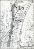 1972 East - West relief road. Detail of site of proposed tunnel