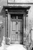 Doorway to no 10 Chatham Row July 1967