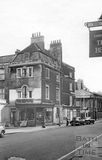14 Chatham Row and 112-116 Walcot Street from the north west August 1967