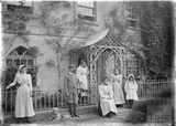 Family outside Tucking Mill House c.1905
