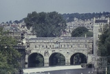 Pulteney Bridge and riverside, Bath 1960s