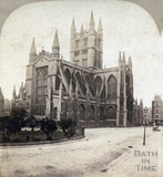 Bath Abbey from the Orange Grove c.1860
