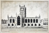 A north view of St Peter and Paul's, commonly called Bath Abbey 1785