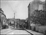 Tram Car no 32 in Batheaston High Street c.1900
