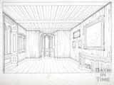 Room on Ground Floor, Beckford's Tower, Lansdown, Bath 1828