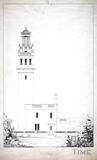 Lansdown Tower, East Front, Beckford's Tower, Lansdown, Bath 1828