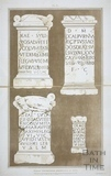 Roman Inscriptions Discovered at Bath 1802