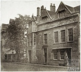 Abbey Church House, Westgate Buildings, Bath c.1855