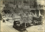 Roman Baths excavations, Bath c.1890