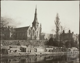 St. Matthew's Church and Widcombe Wharf, Widcombe, Bath c.1853-61