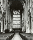 East window, Bath Abbey, Bath 1966