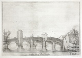 The East Prospect of Bath Bridge, Bath 1718