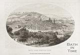 Bath from Beechen Cliff 1858