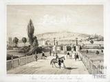 Sham Castle from the North Parade Bridge, Bath c.1850