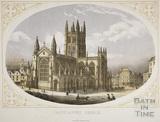 Bath Abbey Church, Bath c.1857
