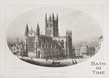 Bath Abbey Church, Bath c.1857