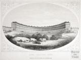 Royal Crescent, Bath c.1857