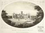 Wesleyan College, Lansdown Road, Bath c.1857