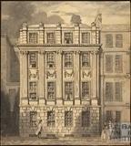 Marshall Wade's House, Abbey Church Yard, Bath 1858