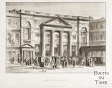 The Pump Room, Bath 1820