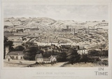 Bath from Beechen Cliff c.1857